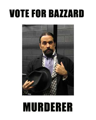 Matthew Warner as Bazzard