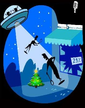 How the Martians Stole Christmas